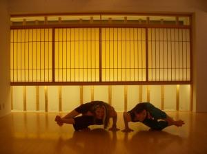 Kyoto Studio Yoggy 2008- Aki and I