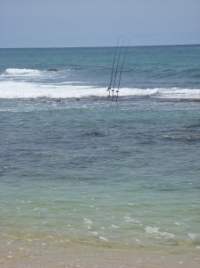 Local fishing at Baby beach....