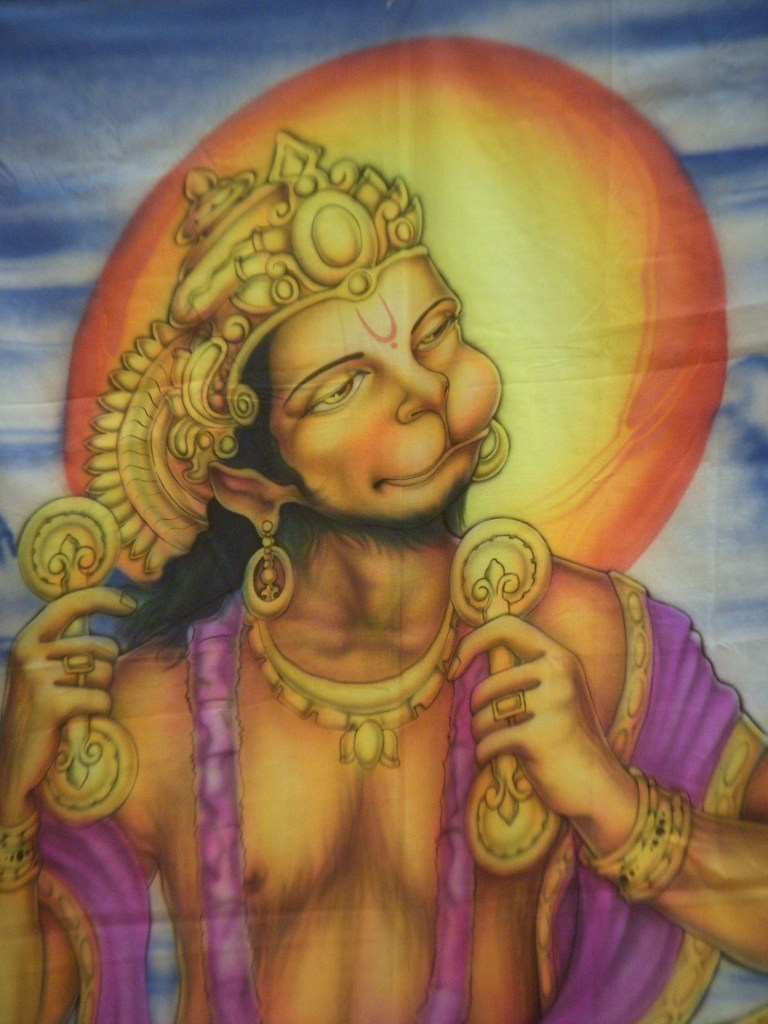 The Bhakti yogi Hanuman