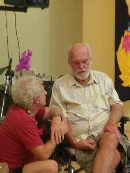John Friend and Ram Dass