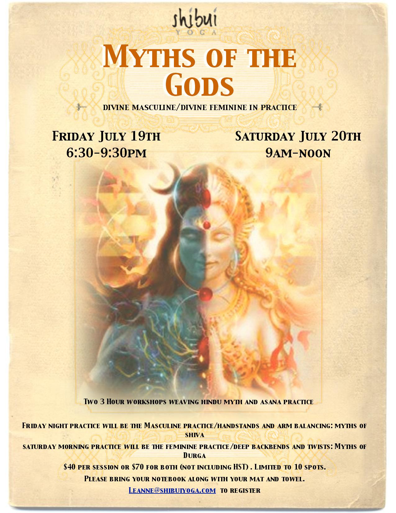 Myths of the Gods